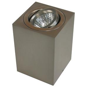Rock Cube Spot Uplighter Nickel 20W