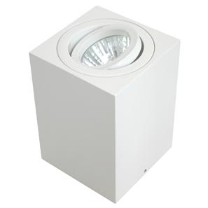 Rock Cube Spot Uplight White 20W