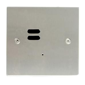 Wise ID Switch Satin Stainless Steel 2 Channel