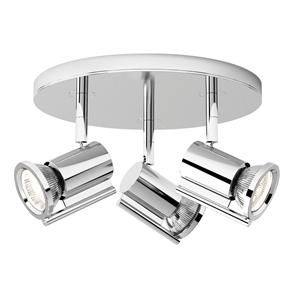 Misumi Triple 240V 3 x 50W Polished Chrome