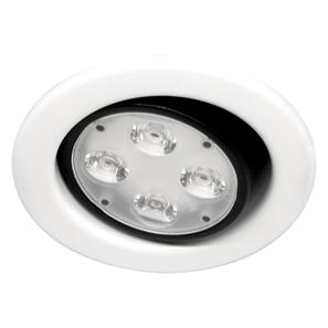Contract Fire LED Adjustable 240V 4W White