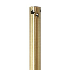 Down Rod Small Antique Brass 305mm