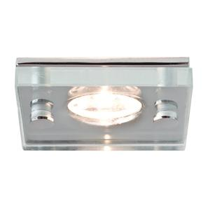 Ice LED Square Polished Chrome / Glass 3500K Neutral White