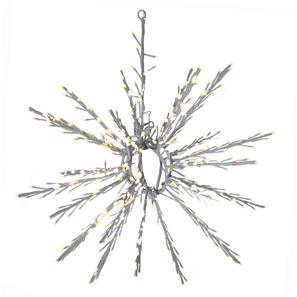 LED Outdoor/Indoor Snowflake 65   3000K Warm White White