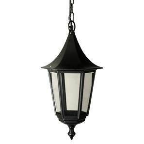 Lantern Chain Large 240V Black 100W