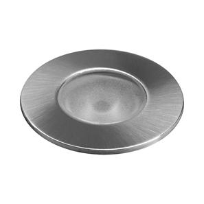Phantom Stainless Steel Round Uplight  8° 700mA 3000K Warm White 3W