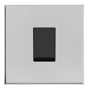 Complimentary Rocker Switch Intermediate Chrome Frameless 1 Gang