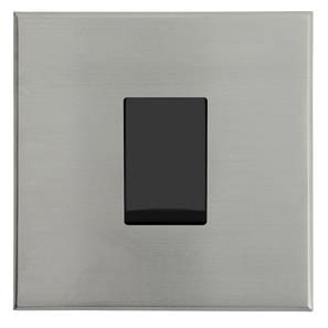 Complimentary Rocker Switch Intermediate Nickel Frameless 1 Gang