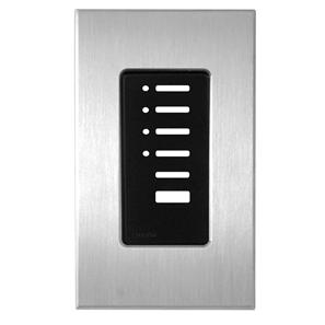 Lutron North American Wall Switch Cover Plate Polished Chrome