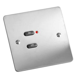 RAKO Face Plate 2 Button Mirror