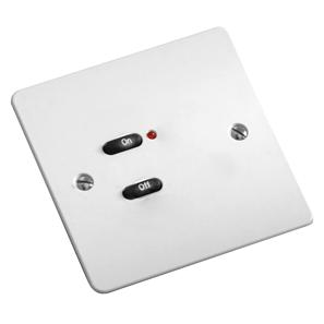 RAKO Face Plate 2 Button White
