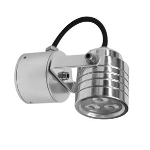 Battlestar Wall Light 240V 3W Aluminium 3000K Warm White