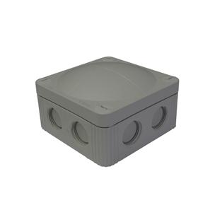 Waterproof Junction Box (85mm) 8 Way Grey