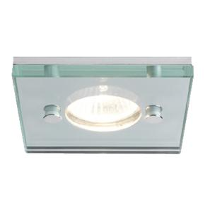 Ice Square 240V 50W Polished Chrome