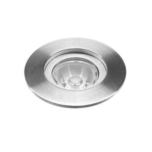 LED 40mm Recessed 12� 350mA 4000K Cool White 1W