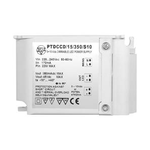 1-10V Dimmable LED Driver (Constant Current) White 15W 350mA