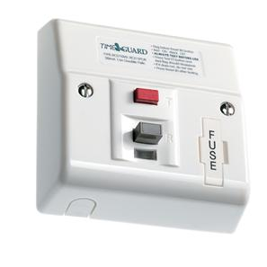 RCD Latching Fused Connection Unit 1 Gang White