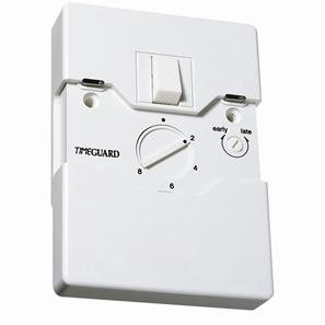 Programmable Security Light Switch 1 Gang White
