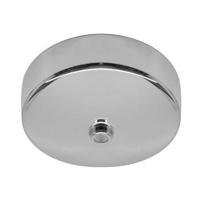 Dome Ceiling Rose Chrome 85mm