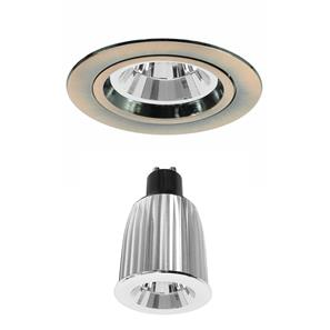 Contract 50 Reality LED Warm White (3000K) 7W (=75W) Bronze 45°