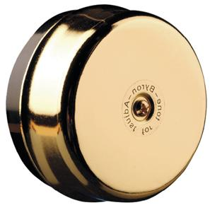 Wired Underdome Bell  Brass