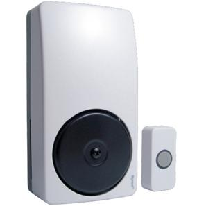 Wired Wall Mounted Bell-in-one White