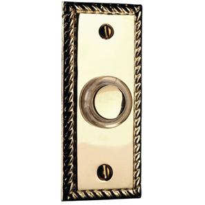 Wired Bell Push (Illuminated Button) Brass