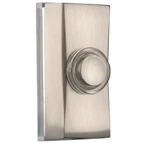 Wired Bell Push  Brushed Nickel