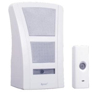 Wirefree Portable Doorchime White