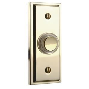 Wired Bell Push  Brass