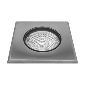 LED Recessed Uplight 240V 8W Stainless Steel 3000K Warm White