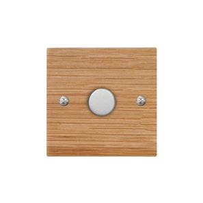 Dimmer Switch 1 gang 400 watt 2 way Oak