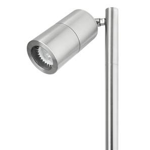 Smooth Long Spike Light 240V Marine 316 Stainless Steel 50W