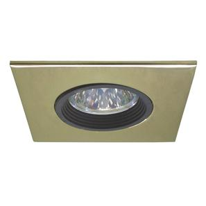 Downlighter 50 Square 12V 50W Brass