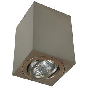 Rock Cube Spot Downlight 240V 50W Nickel