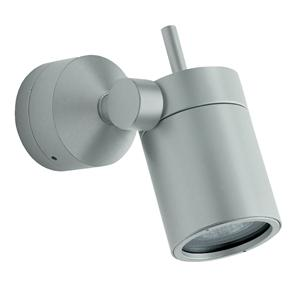 Vision Adjustable Spot 240V Aluminium Grey 50W