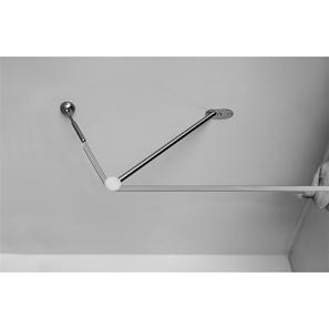 Ceiling Terminating Kit Satin Nickel