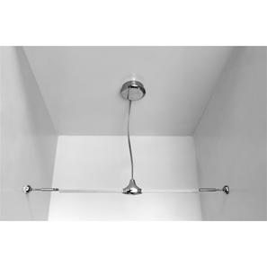 Mains Supply Ceiling Kit Chrome
