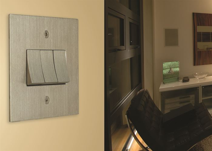 Flat Plate Satin Nickel Range