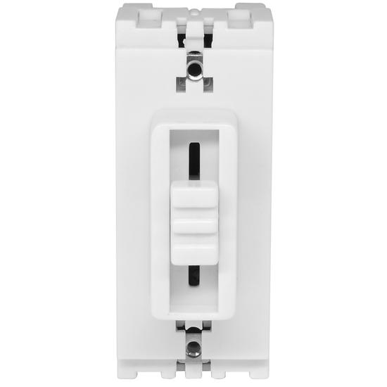 Slide Grid Dimmer White 40-250W