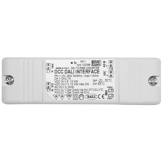 DCC Dali Interface (Constant Current & Constant Voltage) 12V  White 2W