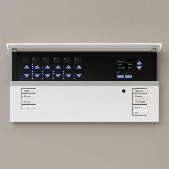 Lutron Grafik Eye QS White 6 Circuits