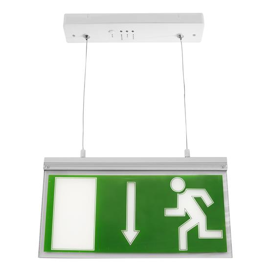 LED Hanging Exit Sign White 4W