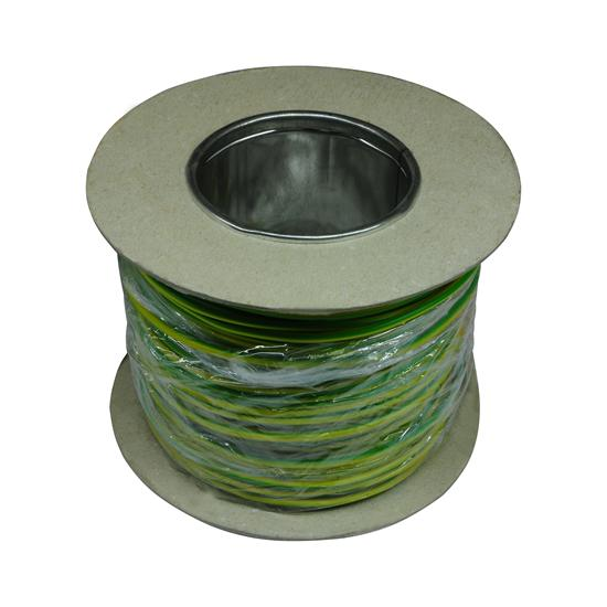 PVC Single Core Cable 100M 1.5mm² Green / Yellow