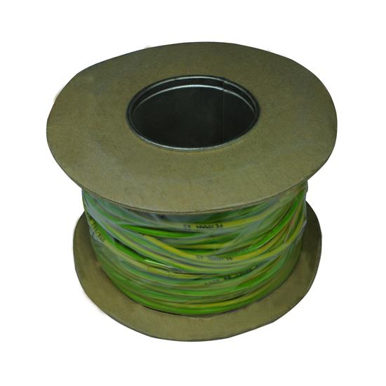 PVC Single Core 100M 2.5mm� Green / Yellow