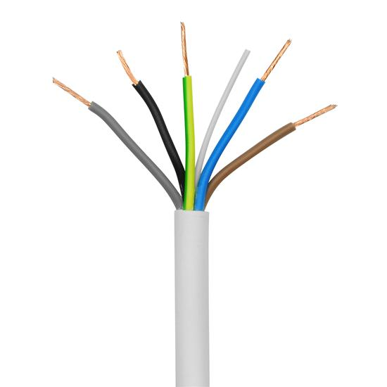 PVC Flex Cable 0.75mm² 5 Core