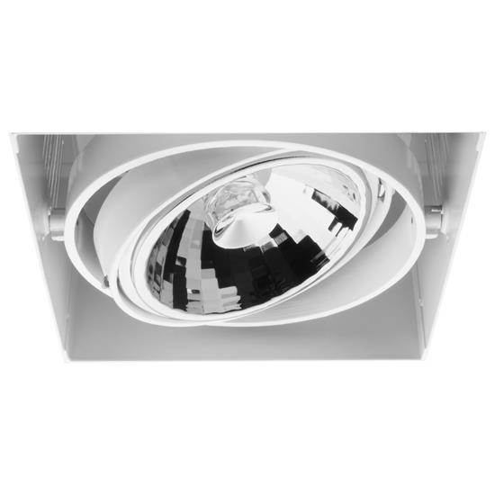 Grid Trimless Single AR111 12V 75W White