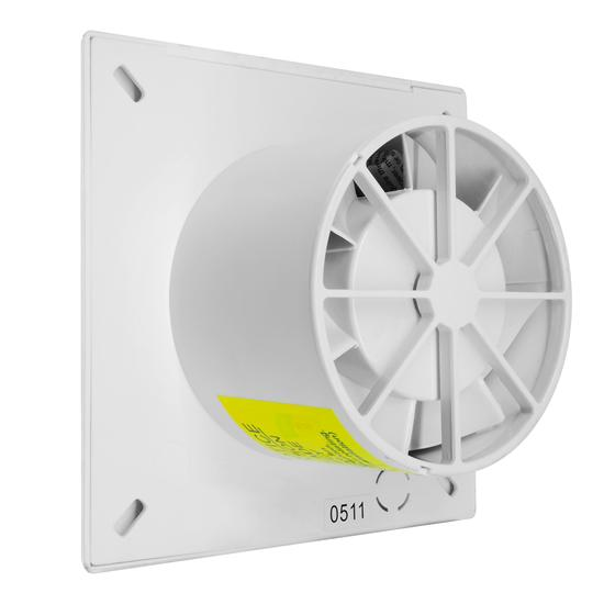 Slimline Extractor Fan With Timer 4 Quot 240v Chrome 20w Mr