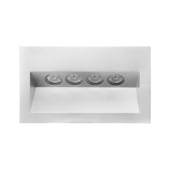 Ixis recessed wall light 240v 4w white 3000k warm white mr ixis recessed wall light 240v 4w white 3000k warm white aloadofball Gallery