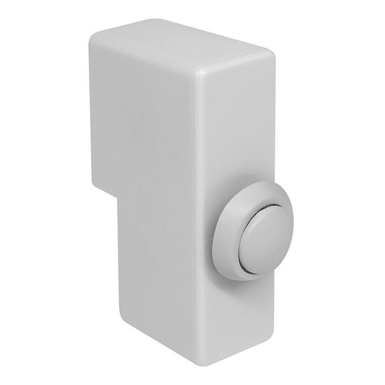 Push To Break Switch Module White 5A